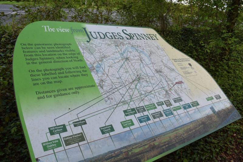 Judges Spinney Information Sign